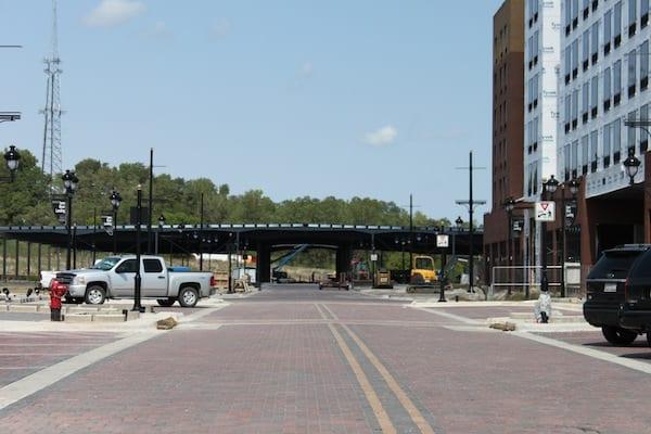 Iowa River Landing Constuction Update - 09/06/2012