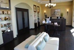 Typical Massage Heights interior; San Antonio, TX.