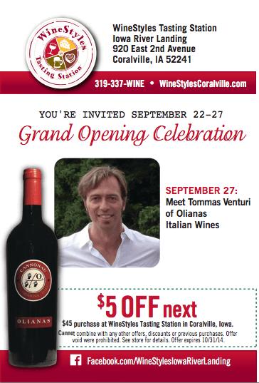 WineStyles Grand Opening | Coralville, Iowa