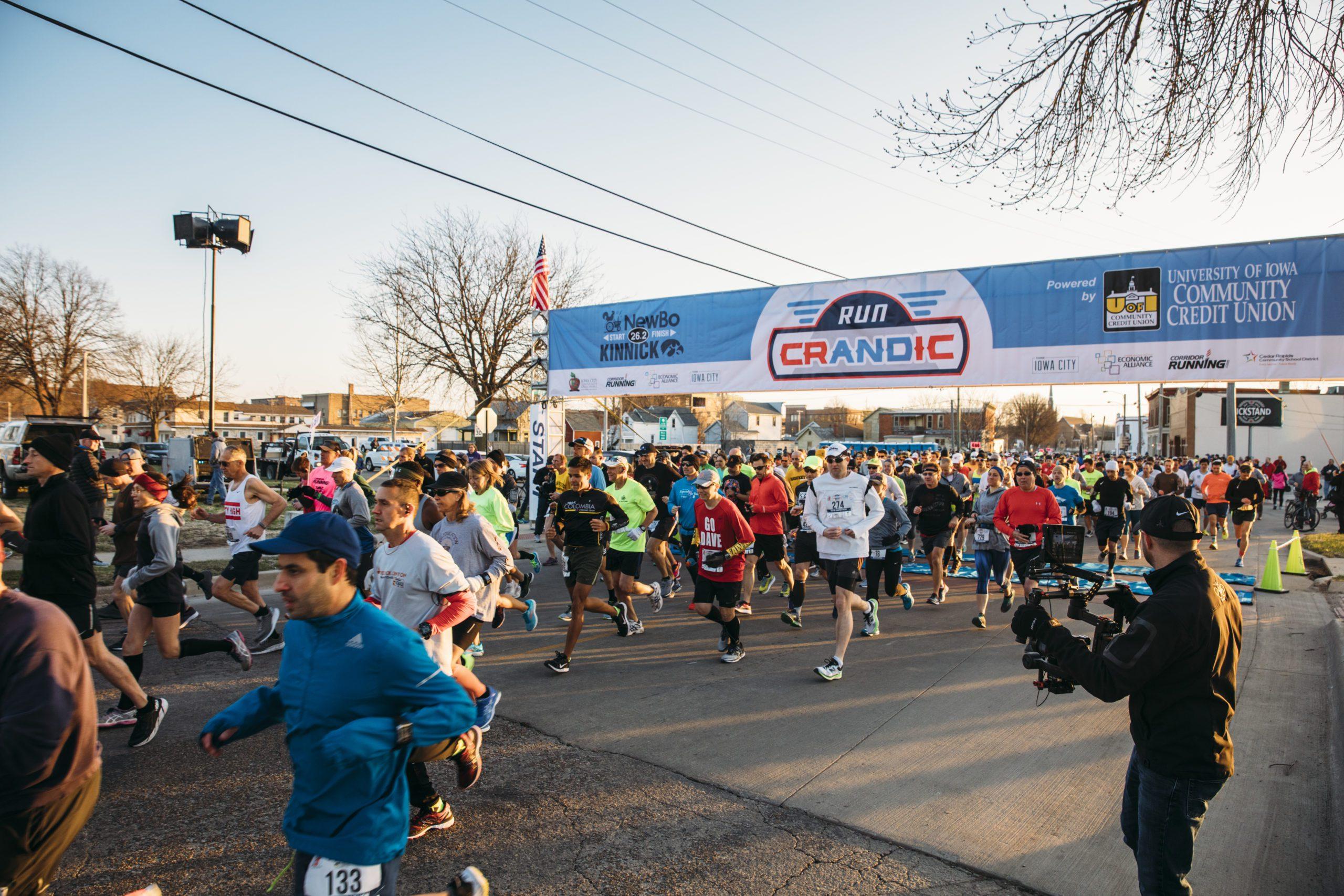 Run CRANDIC Race Participants Starting their race.